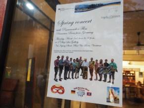 "Invitation poster for the (small-scale) ""Oktoberfest"" in Vientiane"