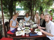 Lunch in Vientiane