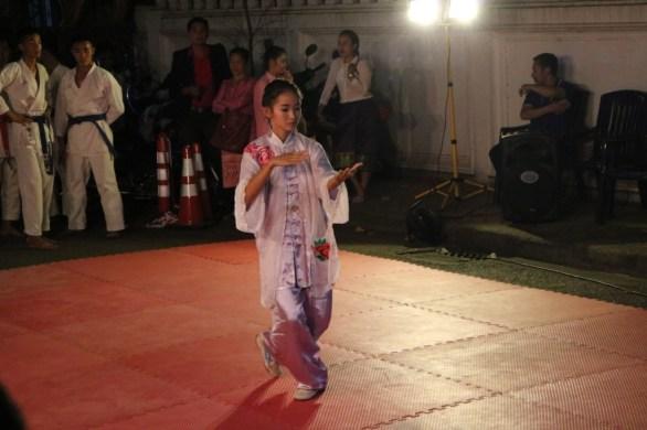 Karate exercises
