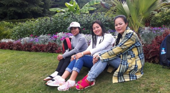 Donekeo, Mittaphone and me in the park
