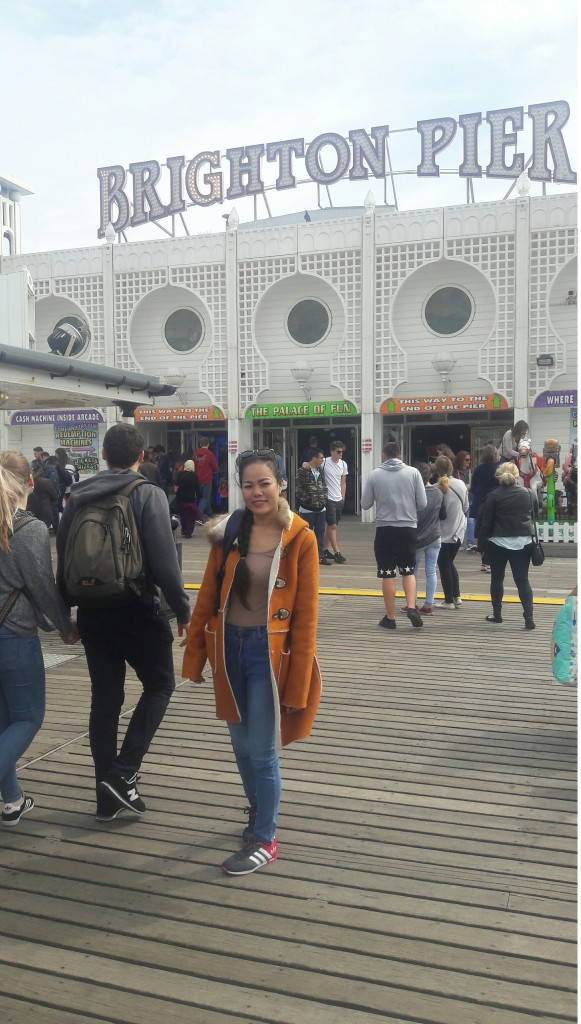 Me at the Brighton Pier