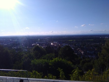 Karlsruhe below