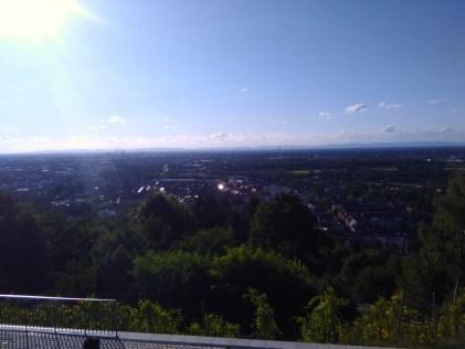 Karlsruhe below
