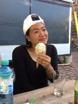 Task for Mit: How to eat an ice-cream in a cone