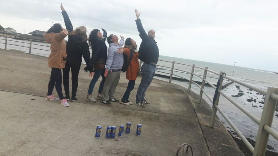 On the pier in Broadstairs