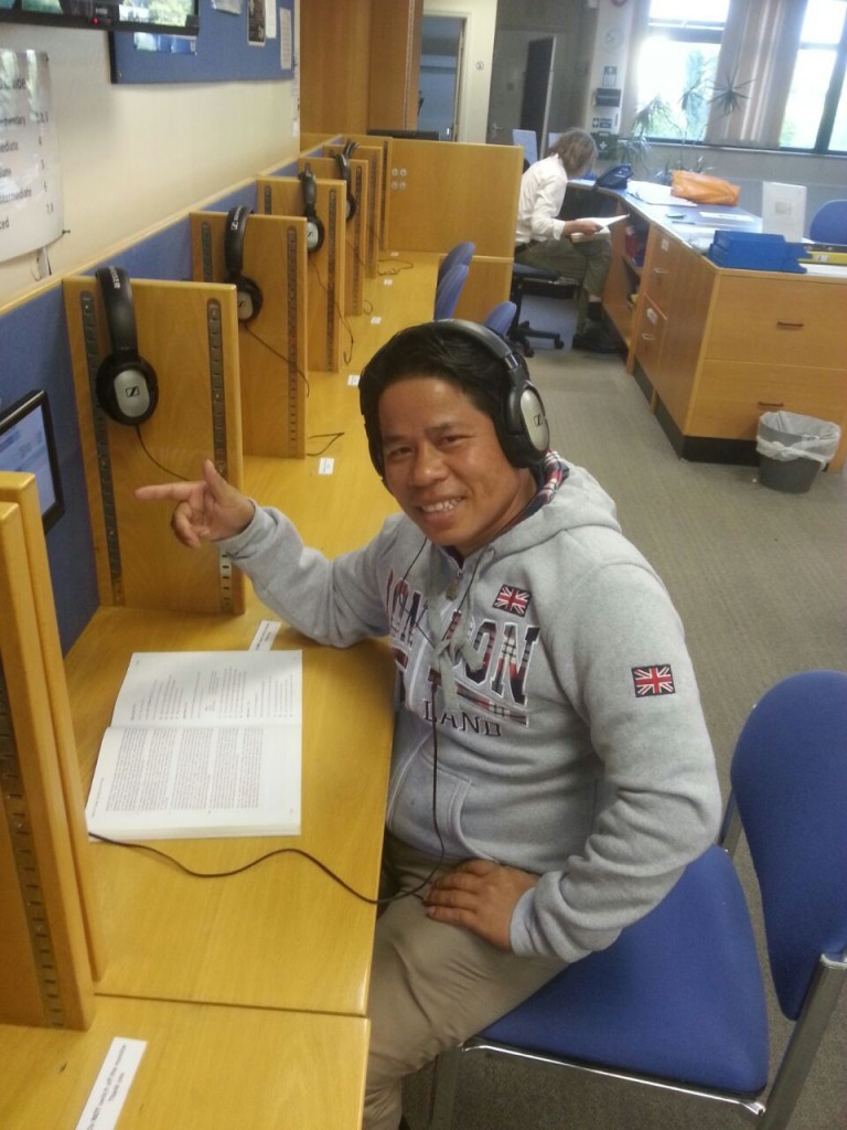 Studying at Hilderstone College – Letters from England by Souvanh Navong