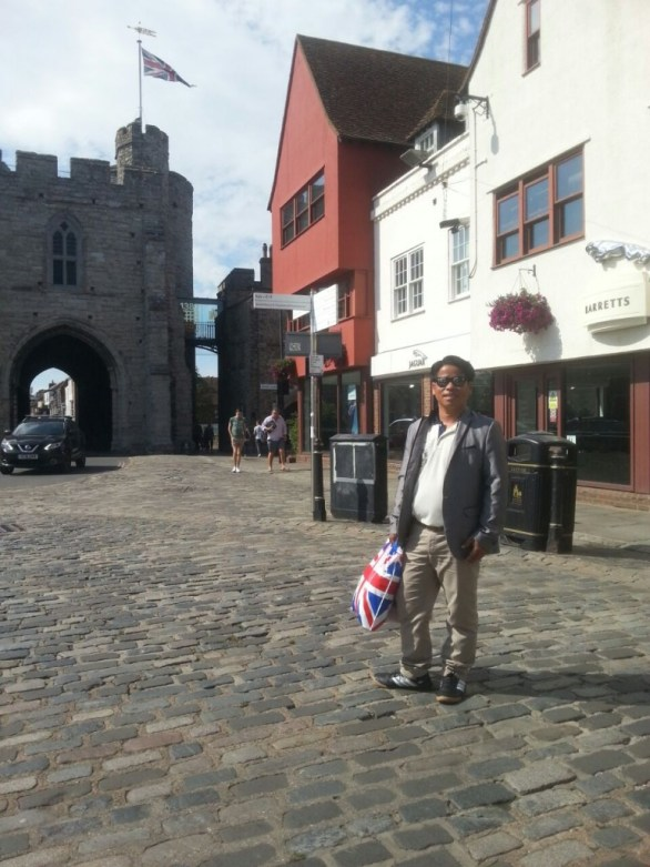 Me in Canterbury