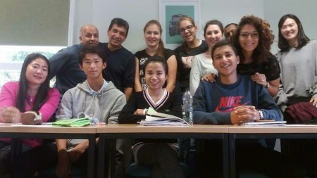 Donekeo, me and my classmates...