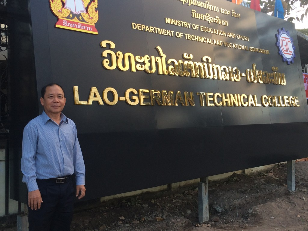 "Letters from Laos – ""My journey to Germany"" by Mr Khamsavay Gnommilavong"
