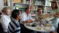... and in Prof. Martin's office at the University of Education Karlsruhe