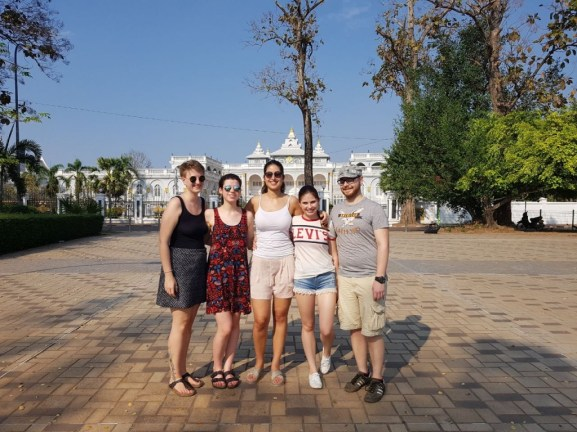 Team VI in Vientiane