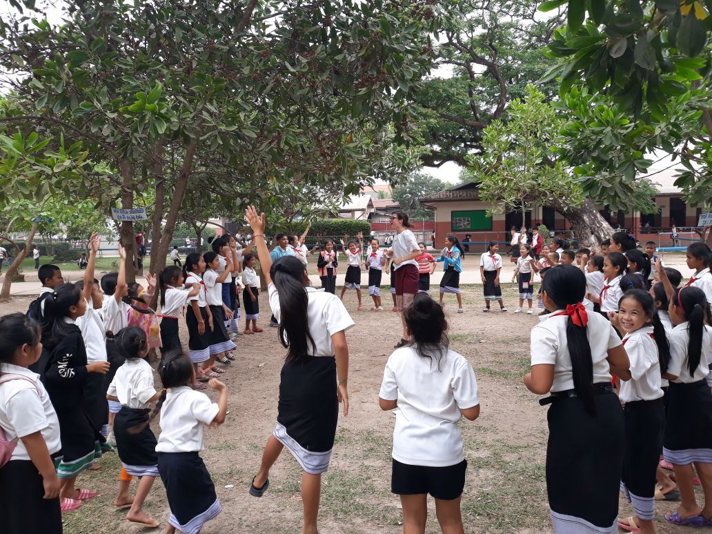 Teaching camp songs – a journey from the USA to Laos