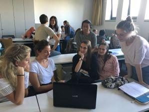 Sandra and Ariane present their workshop:
