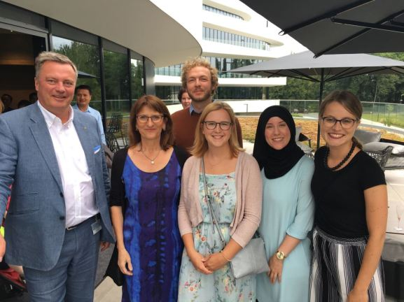Christian Engel, Prof. Isabel Martin, Johannes Zeck, Nicole Wiesa, Dilara Erdogan & Patricia Hopp
