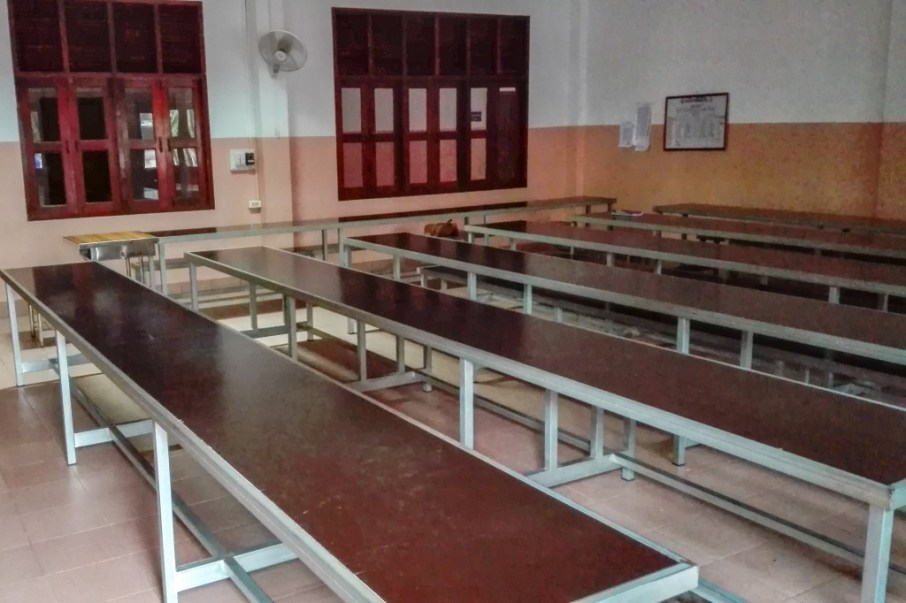 An example of a non-flexible classroom