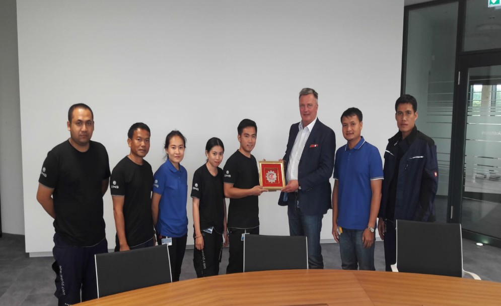 Dual vocational training in Germany: Six weeks of training at BHS Corrugated – by Saythong Insarn