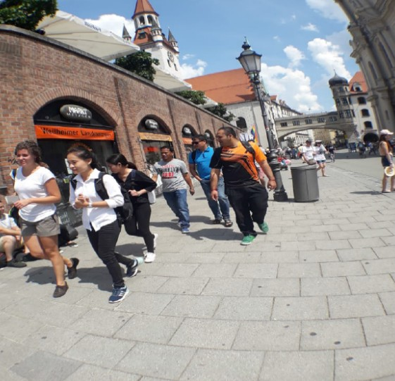 A stroll through the city of Munich