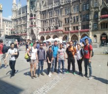 Sightseeing in the city of Munich