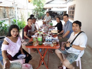 ... another Womens' Day Party at the Mr Sonexay Pasitkhammun's house