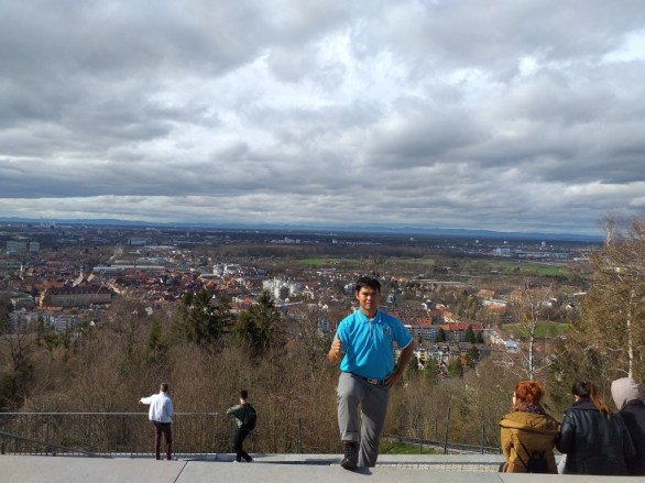 """""""Mountain trip"""": excursion with International Club to the """"Turmberg"""" (""""tower hill"""")"""