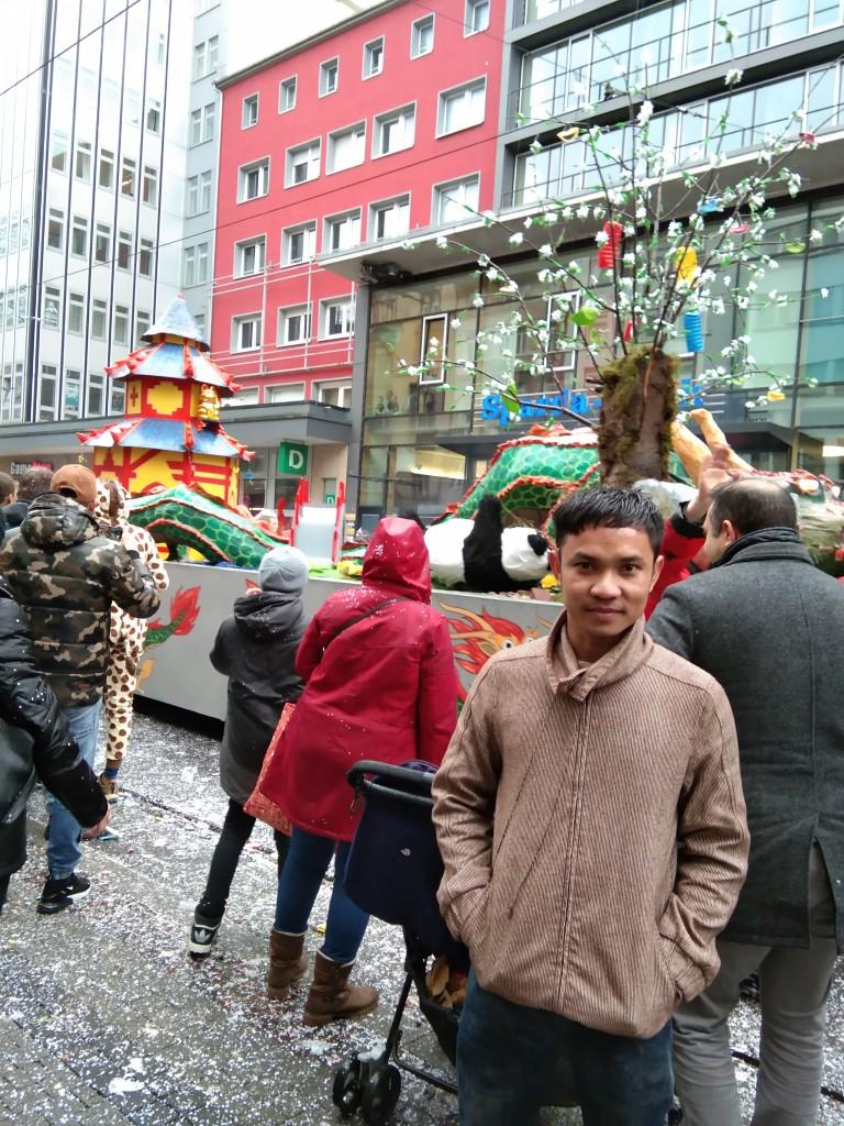 Carnival wagon