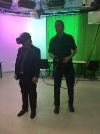 ... Prof. Bounpong tries 3D...
