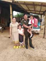 Ms Bounpheng and her family