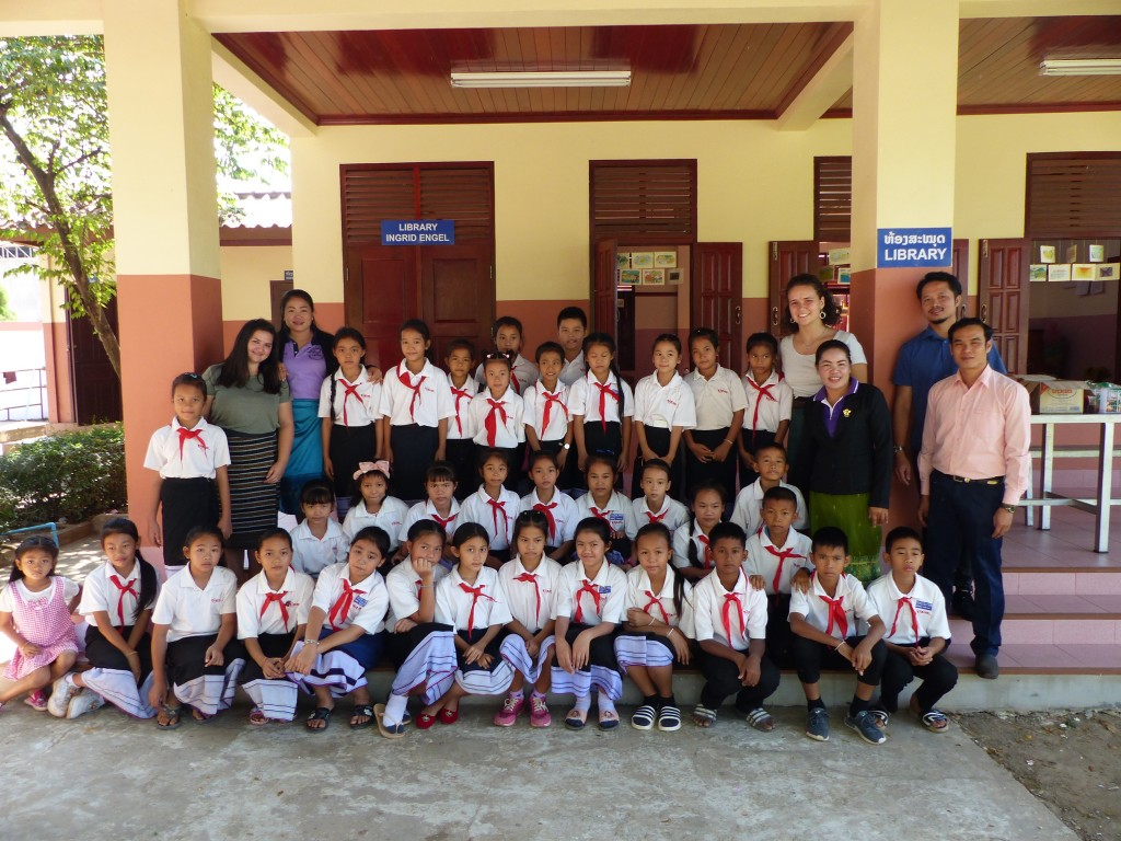 """""""Yes, they can!"""" – Lao pupils become authors and illustrators"""