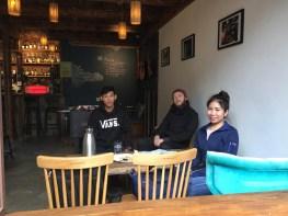 Lunch in Zhujiajao water town