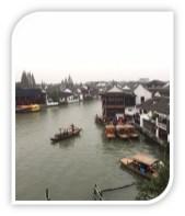 The ancient Zhujiajiao water town