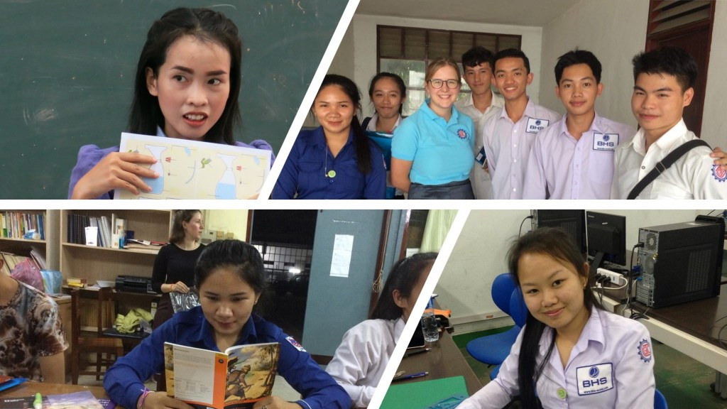 A day in the life of three students, an English teacher and a Team VII volunteer at the LGTC