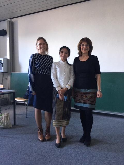 Julia Friedl, Viengvilaiphone Botthoulath, Isabel Martin