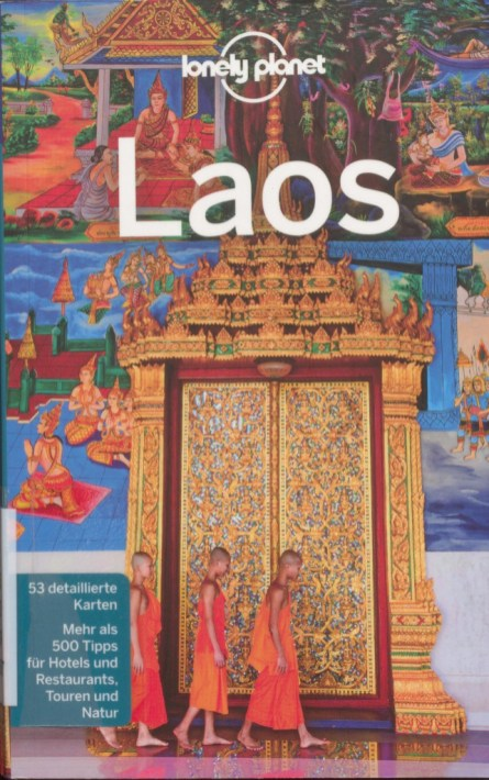 """Front cover of """"Lonely Planet Laos"""" - excerpt from """"Lonely Planet Laos"""", © 2007 MAIRDUMONT GmbH & Co. KG"""