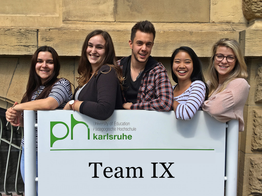 We are Team IX – Introduction