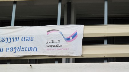 Lao-German cooperation at the LGTC
