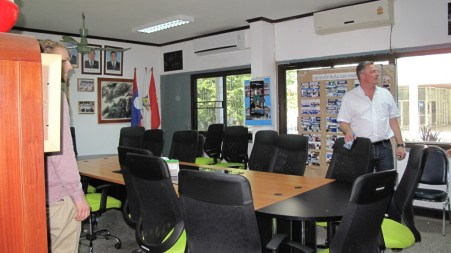 ... in the meeting-room...