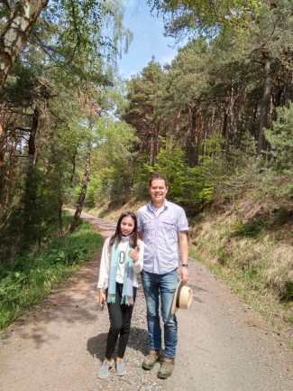 A hike in the Black Forest with Dr Martin...