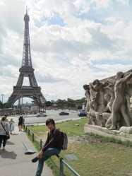 I visit Eiffel Tower...