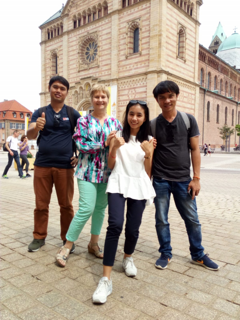 """Anna"" brings us to visit Speyer city."