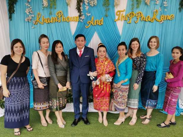Wedding of Mr Khamphoun and Ms Thipphalone