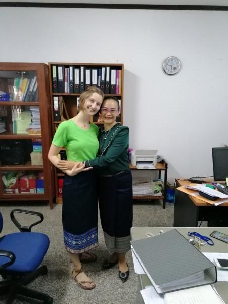 ... with Ms Sounita...