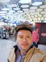 Transfer flight in Abu Dhabi Airport