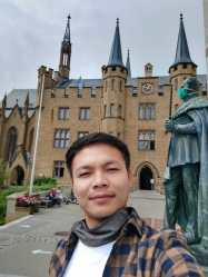 Wonderful trip in Wonderful trip in (Hohenzollern Castle) with Rebecca's family