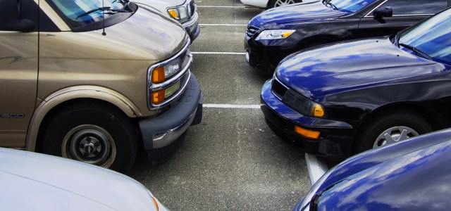 Construction reduces parking for seniors