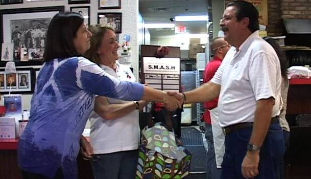 John The Baker Honored For S.M.A.S.H. Support