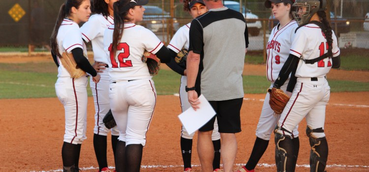 Varsity softball: Lady Cowboys beat Mater Academy 10-0 in their first regional game
