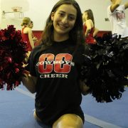 """Little Miss Varsity"": Sophomore Noa Pogany challenges cheerleading tradition"