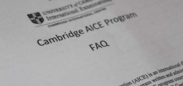 """""""Did I AICE It?"""": The mystery behind the new Cambridge exam scores"""