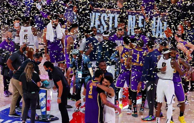 Los Angeles Lakers clinch 2020 NBA Championship over Miami Heat