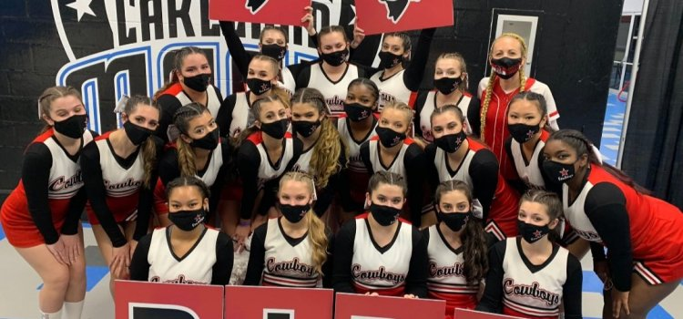 CCHS brings it on: Cheer team places second at state championships